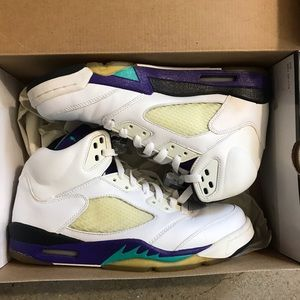"Air Jordan 5 Retro LS ""Grape"" 2006"